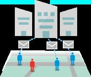 参集、周辺社員に参集指示をし、営業所や工場の現状を把握
